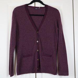 Magaschoni 100% Cashmere Cardigan Sweater Size M